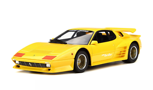 1 18 GT Spirit Ferrari 512 BBi Turbo Koenig Turbo in Yellow   GT702