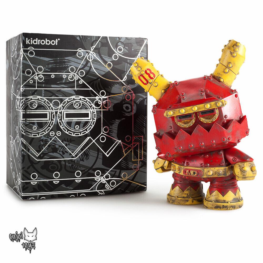 Mecha Stealth 8  Dunny Vinilo Figura-Frank Kozik x Kidrobot Nuevo