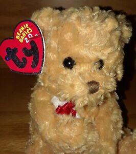 TY Beanie Baby 2.0 Play Online - SCHOLARS Graduation Bear No Hat Version 6.5 in