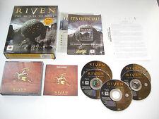 MYST II 2 RIVEN Pc Cd Rom / MAC Original BIG BOX  Fast , Secure Post