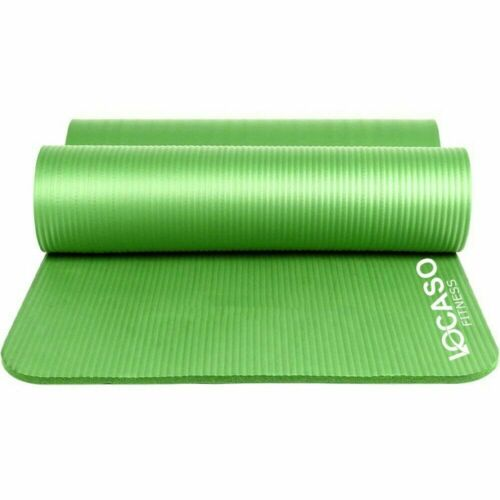 Yoga Mat for Pilates Gym Exercise Carry Strap 15mm Thick Large Comfortable.