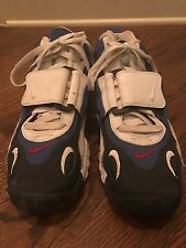 Men's Nike Air Jordan Basketball Leather Shoes Size 9 Red, White and Blue