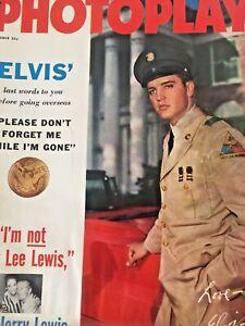 Vintage-Collectible-Movie-Magazine-Photoplay-Elvis-Presley-Cover-October-1958