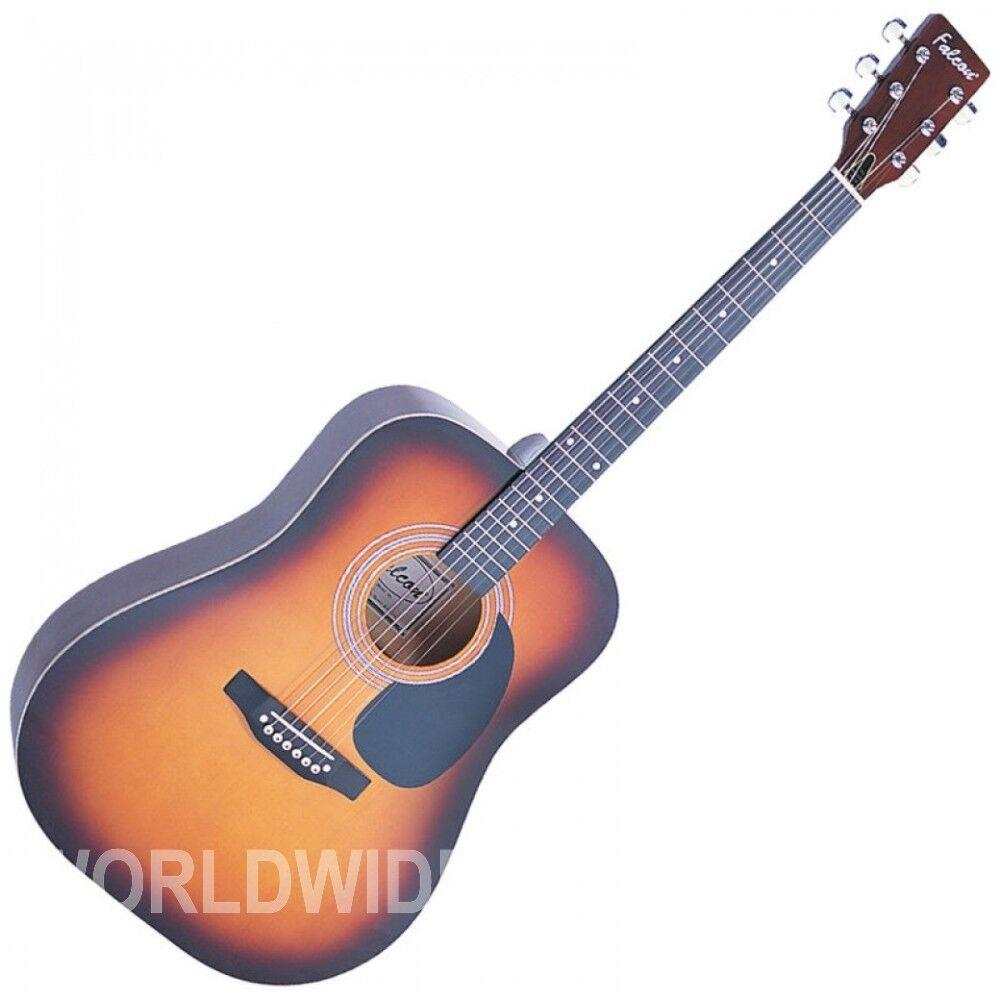 Falcon FG100SB Dreadnought Style Acoustic Guitar Sunburst finish - Brand New