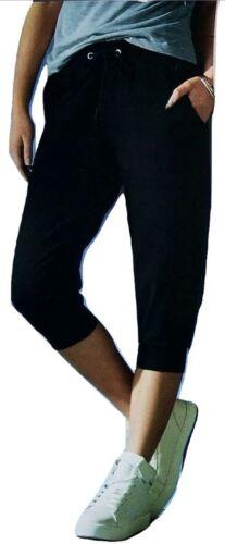 Esmara señora pantalones capri negros