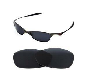 8a0005577fc Image is loading NEW-POLARIZED-BLACK-REPLACEMENT-LENS-FOR-OAKLEY-VINTAGE-