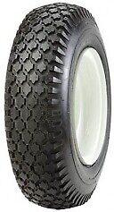 410//350-4 Duro HF201 Diamond Tyre /& Tube Turf LawnMower barrow-2PR 4.10//3.50-4