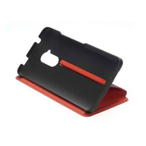 HTC-Double-Dip-Flip-Case-for-HTC-One-Max-HC-V880-Black-Red