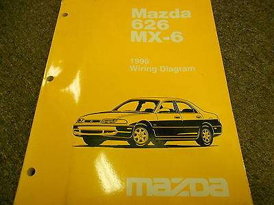 1996 mazda 626 mx 6 mx6 electrical wiring diagram service. Black Bedroom Furniture Sets. Home Design Ideas
