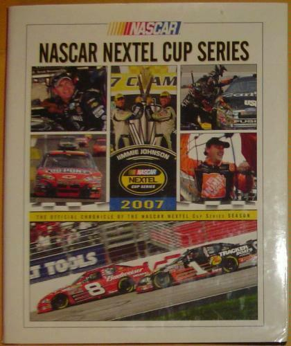 NASCAR Nextel Cup Series 2007 Yearbook Jimmie Johnson Champion