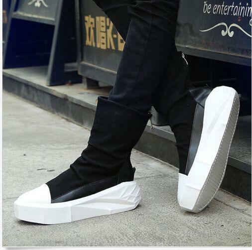 Leisure Mens shoes Platform Punk Boots High Top Hot Sale Sneakers Sports shoes