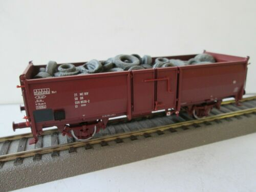 Brawa 48630 Ouvert Wagons Avec Chute de matières Dr h0