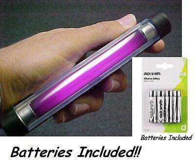 UV HAND HELD BATTERY ULTRA VIOLET LAMP STAMP TESTING 375nm Scientific