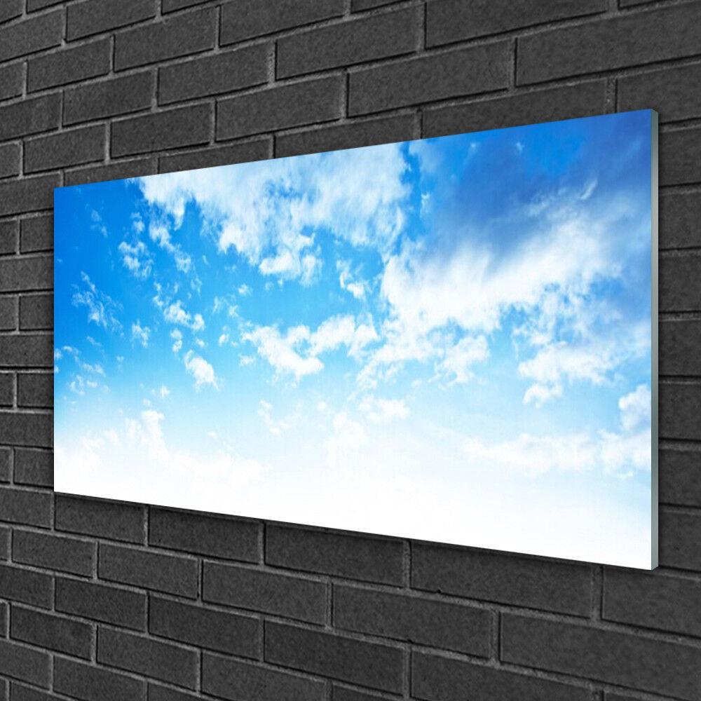 Image sur verre Tableau Impression 100x50 Paysage Ciel