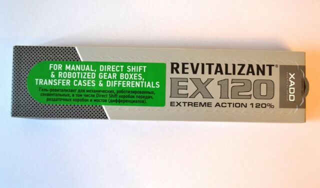 XADO Gel Revitalizant EX120 for Manual Gear Boxes transmission in ECONOMY PACK!!