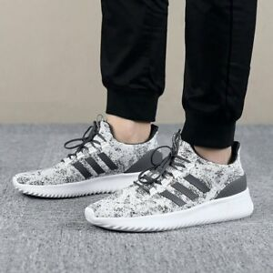 61e7ddd2d89 Image is loading Adidas-Neo-Men-Shoes-Cloudfoam-Ultimate-Running-Training-