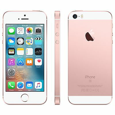 New Apple iPhone SE 64GB FACTORY Unlocked Rose Gold Smartphone (AT&T T-Mobile)