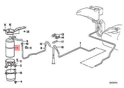 für BMW 3 E30 6 E24 5 E28Filter C 3394 Mann-FilterLuftfilter