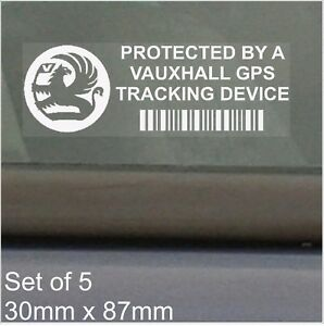 5-x-Vauxhall-GPS-Tracking-Device-Security-Stickers-Car-Alarm-Tracker-Sign-Notice