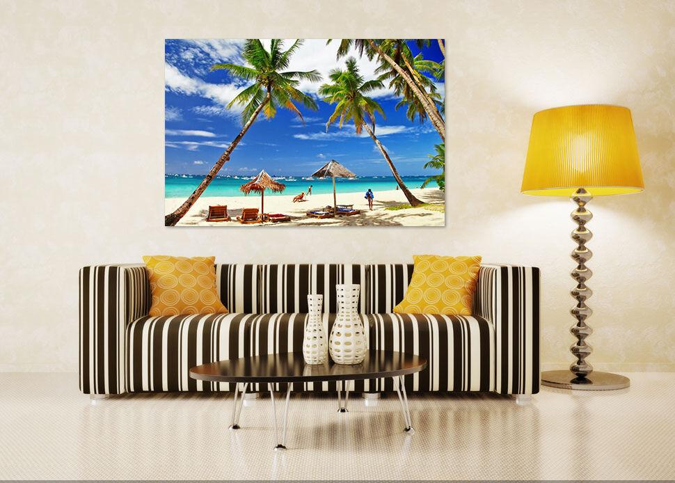 3D Kokosnussbäume 33 Fototapeten Wandbild BildTapete Familie AJSTORE DE