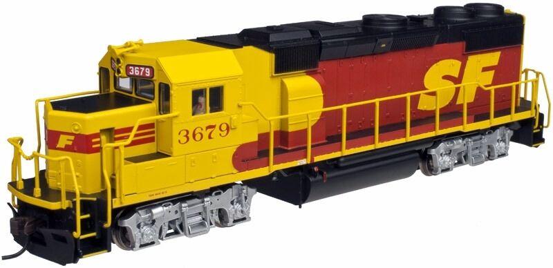 Scala H0 - Atlas Locomotiva Diesel GP39-2 Santa Fe 10001777 Neu