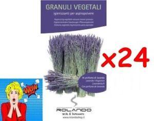 Confiant 24 Bags Profumi Aspirapolvere Granuli Lavanda 100% Vegetali Pet Friendly DéLicieux Dans Le GoûT