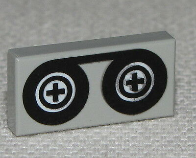 LEGO NEW CASSETTE TAPE RECORDER  1 X 2 TILES SMOOTH MINIFIGURE PIECE
