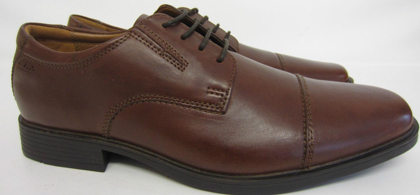 Clarks Hombre Tilden Gorra Ajuste G Cuero Marrón Zapato Talla Go) 36 x 11 ( Go) Talla def9c2