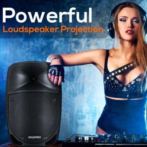 Pyle PSBT85A 800 Watt Bluetooth PA Speaker w// Wireless Mic Rechargeable