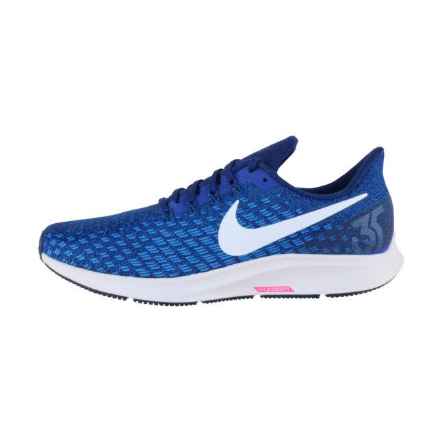 Nike Air Zoom Pegasus 35 Mens 942851 404 Indigo Force Running Shoes Size 11