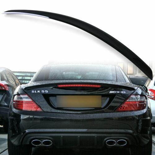 Painted Obsidian Black 197 A style Trunk Spoiler for Mercedes Benz SLK R172