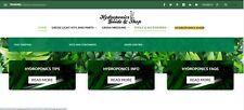 Hydroponics Guide And Shop Wordpress Website Woocommerceamazonebayaliexpress