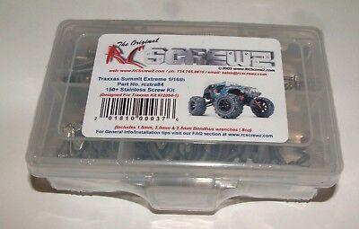 RC Screwz Traxxas Bigfoot 2WD Stainless Steel Screw Set Kit TRA077 FREE SHIP