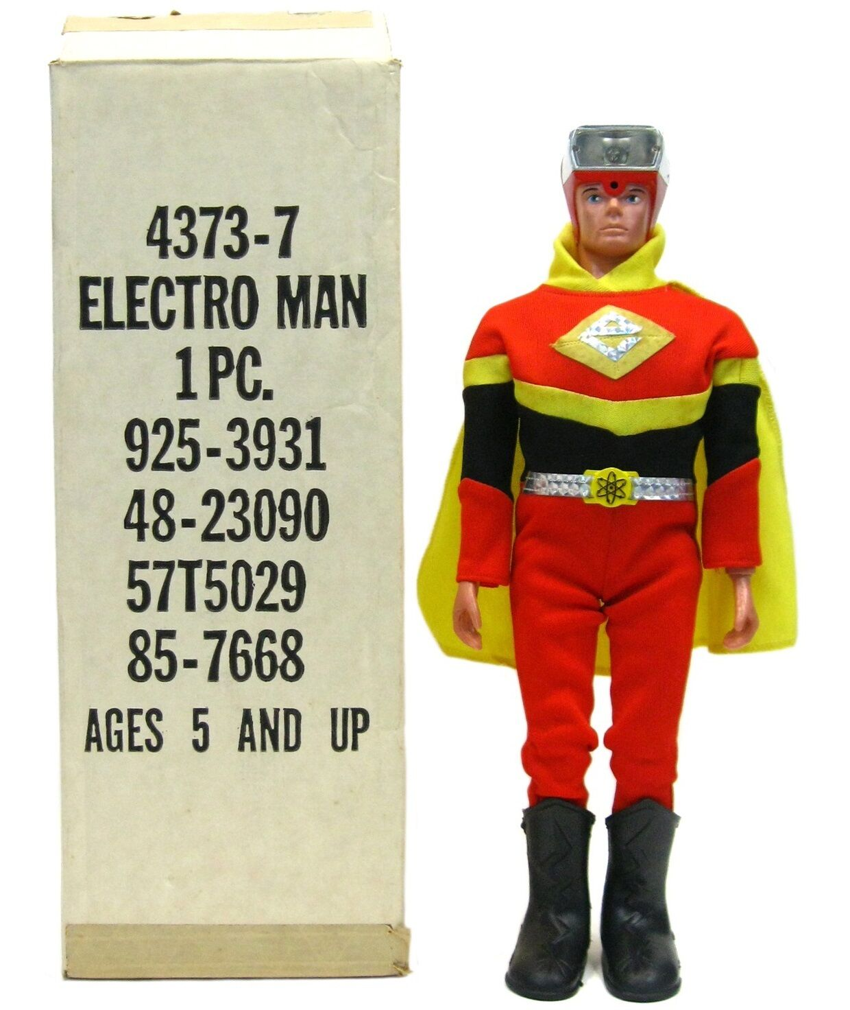 Vintage 1977 Ideal Electroman Robot Zogg Space Toy Mint w Mailer Box MIB Works
