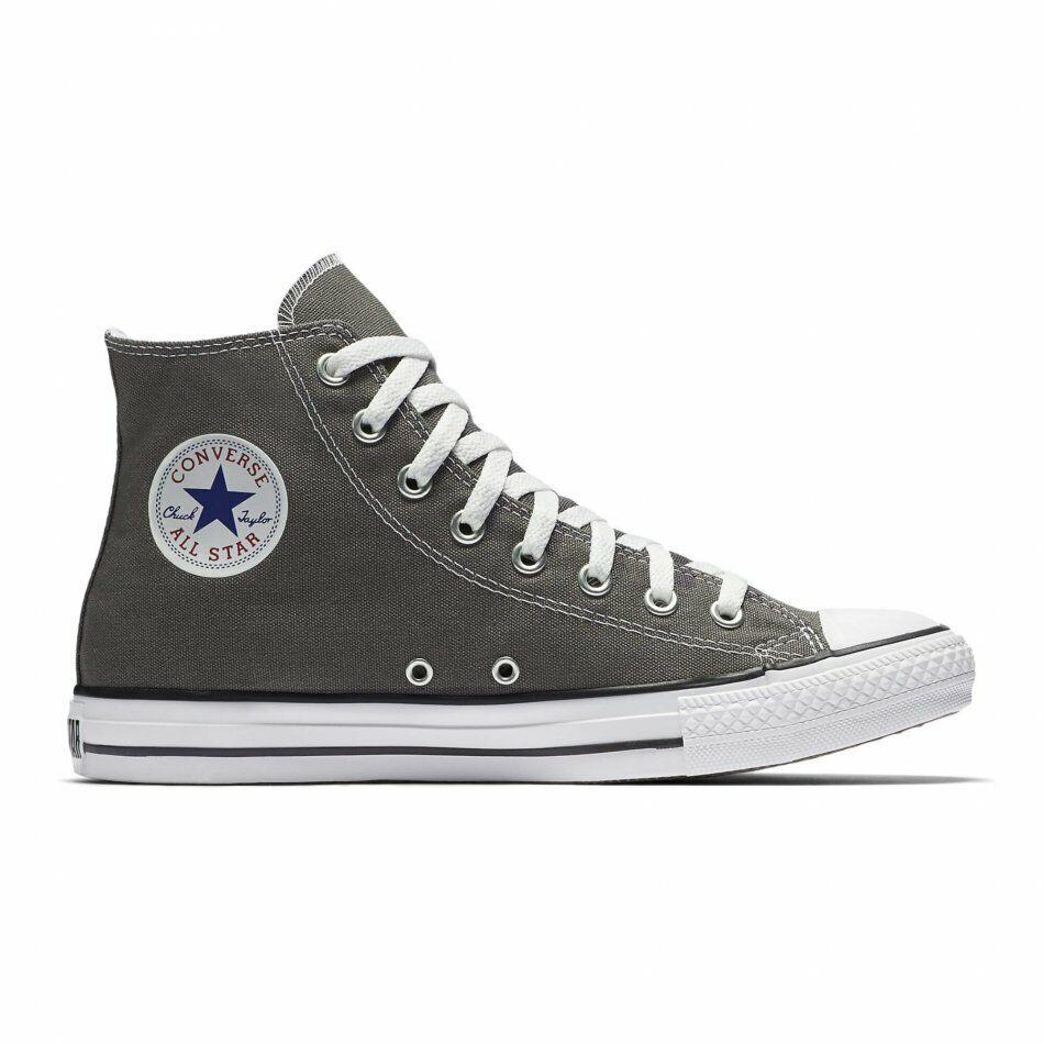 Converse All Star Chuck Taylor Mens Charcoal grigio Fashion scarpe da ginnastica scarpe 1J793C