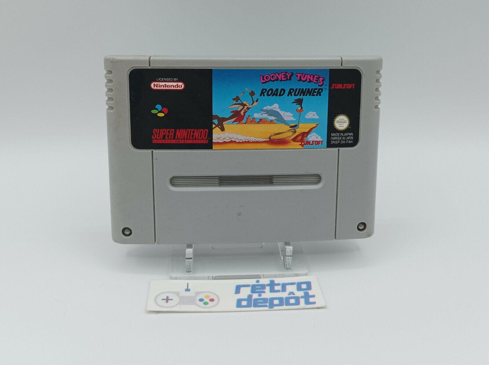 Looney Tunes Road Runner / Super Nintendo / PAL / FR / FAH