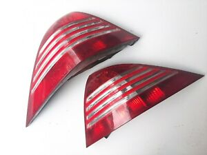CORRODED! 01-06 Mercedes W215 CL500 AMG Right Left Tail Lamps PAIR (AS IS)