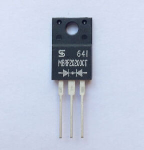 BYV34-500  WEEN  Ultra Fast Diode  500V  20A  50ns TO220  NEW  #BP 2 pcs
