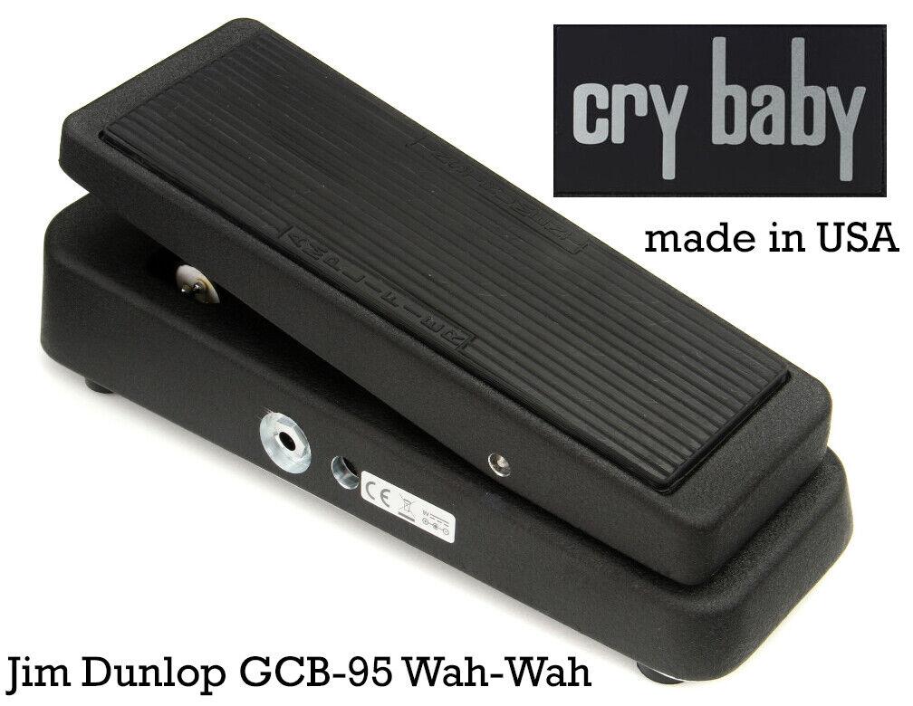 Dunlop Crybaby GCB-95 Wah-Wah   Effektgerät   Dunlop GCB95   wie neu