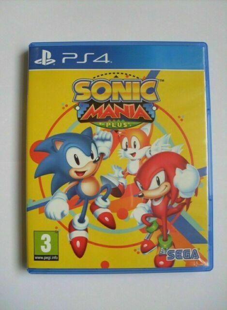 Sonic Mania Plus for (PlayStation 4, 2018)