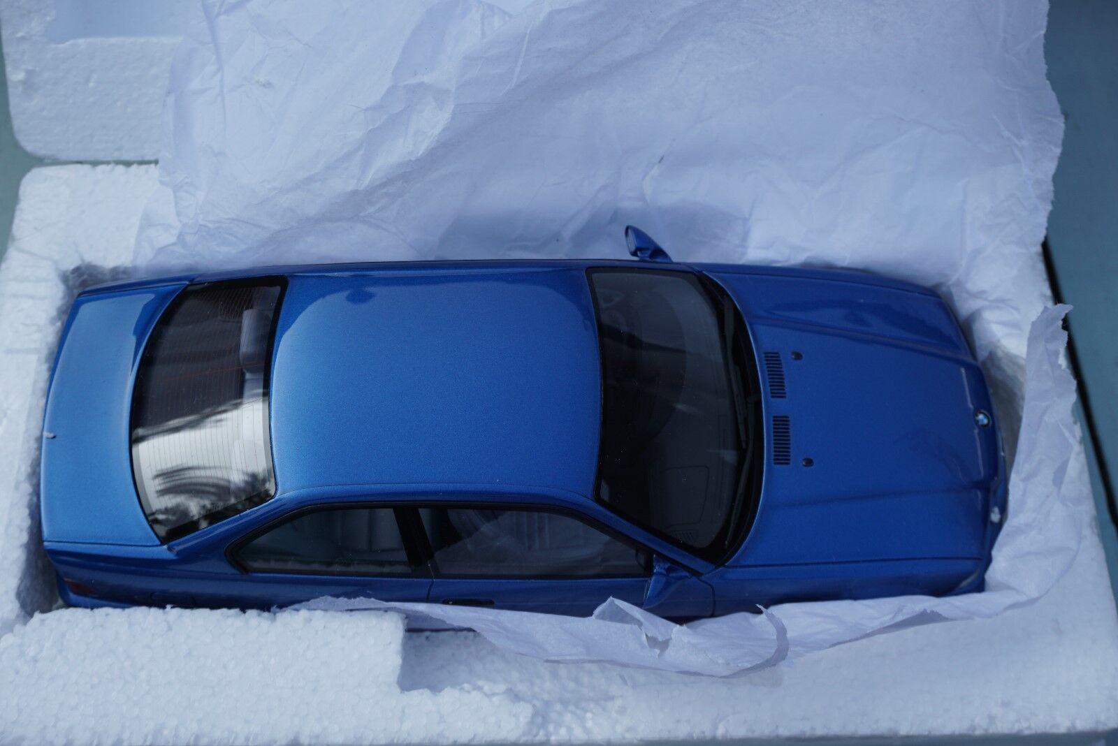 venderse como panqueques 1 18 OTTO MOBILE MOBILE MOBILE BMW E36 M3 Coupe Azul OT625  wholesape barato
