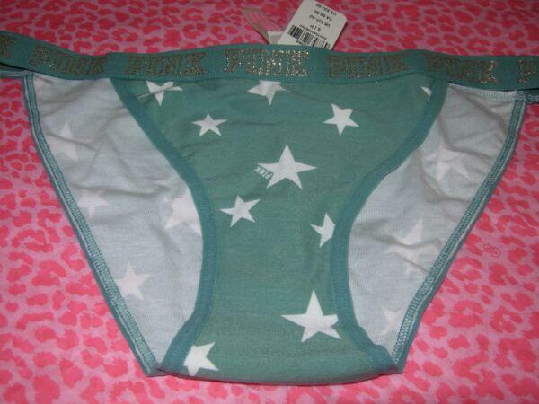 8751bd74924 Victoria s Secret PINK Intimates Low Rise Bikini Underwear Pantie XS S M L  NWT