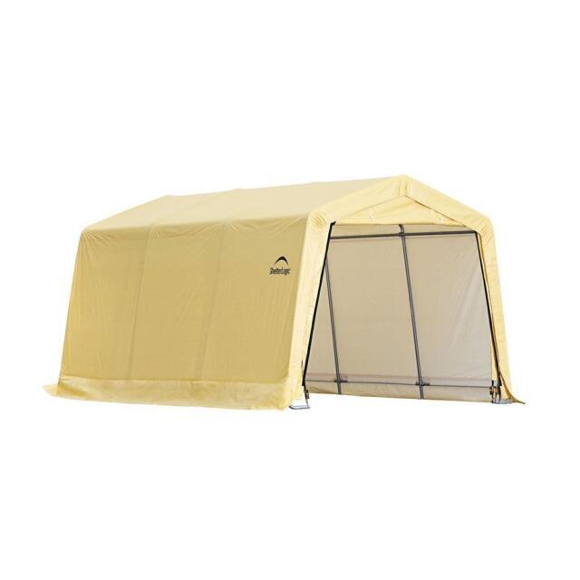 ShelterLogic Portable Garage Car Canopy 10 ft. x 15 ft. x ...