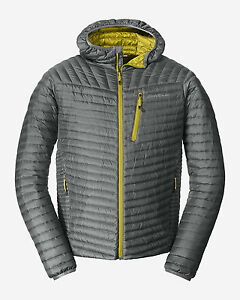 First ascent microtherm down hooded jacket