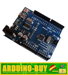Modulo-compatible-ARDUINO-UNO-R3-Atmega328P-CH340-Conexion-mini-USB