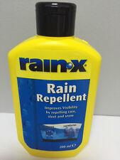 RAIN-X RAIN WATER REPELLENT WINDSCREEN WASH CLEANER GLASS TREATMENT RAINX 200ml