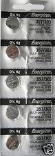 10 357 / 303 Energizer Watch Batteries Sr44sw Sr44w
