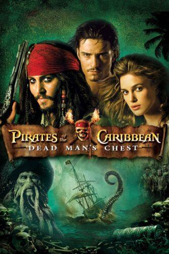"""/"""" Piraten Of The Karibik ; Toten Herren Brust /"""" Klassisch Filmposter Diverse"""