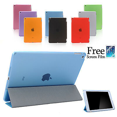 Smart Cover and Hard Back Case for Apple iPad Air 2