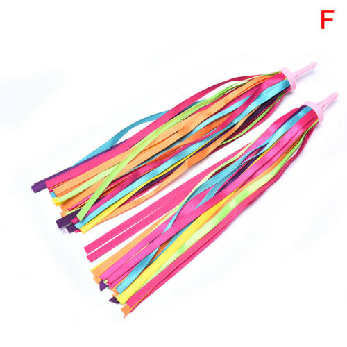 Details about  /Kids Scooter Bike Handlebars Colorful Streamers Tassel Tricycle Handgrip Ribbons
